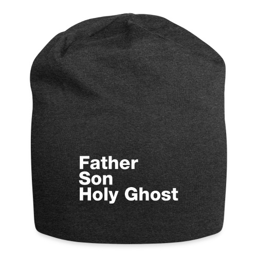 Father Son Holy Ghost - Jersey Beanie