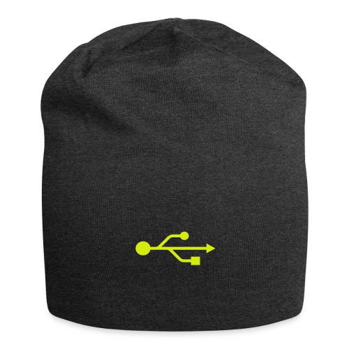 Yellow USB Logo Mid - Jersey Beanie