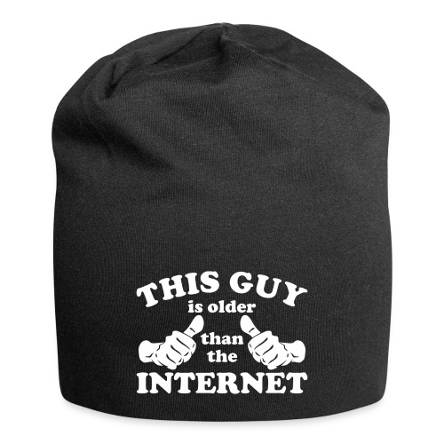 This Guy Older Than The Internet - Jersey Beanie
