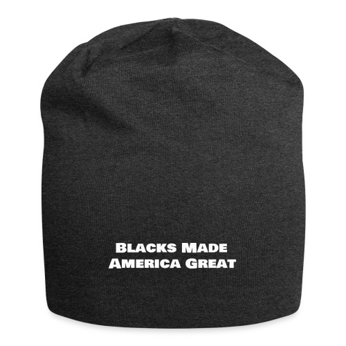 blacks_made_america2 - Jersey Beanie