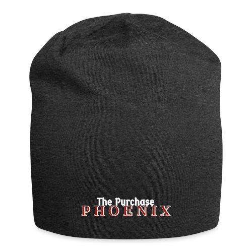 White Purchase Phoenix logo - Jersey Beanie
