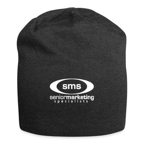 SMS White Logo - Jersey Beanie