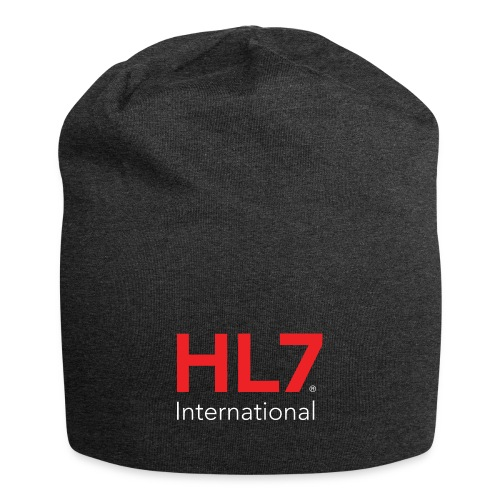 HL7 International Logo - Reverse - Jersey Beanie