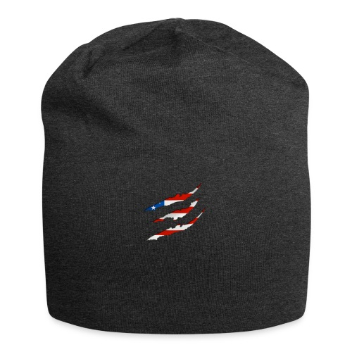 3D American Flag Claw Marks T-shirt for Men - Jersey Beanie
