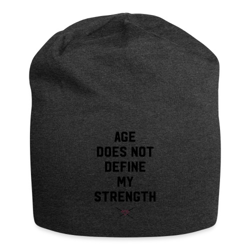 age strength black - Jersey Beanie