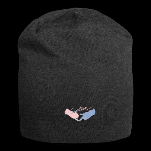 Black T-Shirt - Seventeen - Jersey Beanie