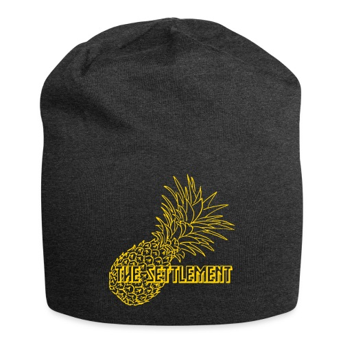 Pineapple with Band Name | The Settlement - Jersey Beanie