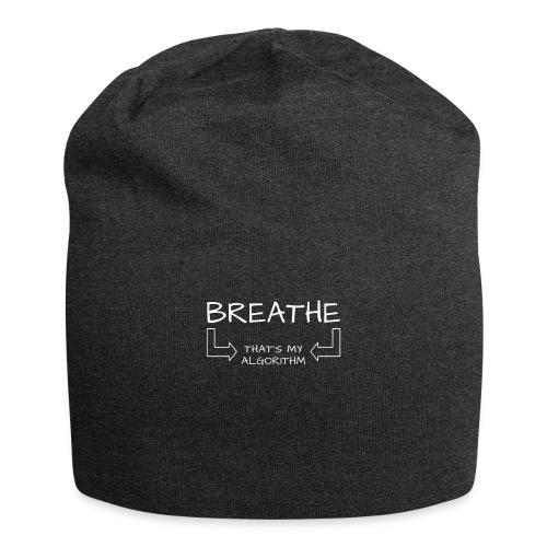 breathe - that's my algorithm - Jersey Beanie