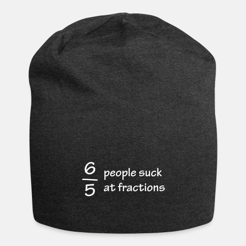 Six out of five people suck at fractions ats