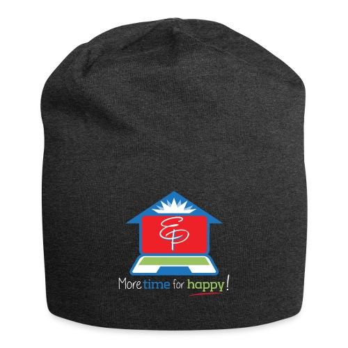 EZPZ Logo Tagline - Jersey Beanie