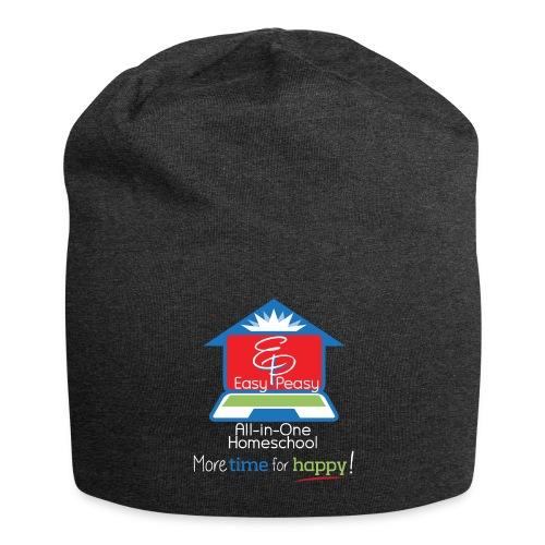 EZPZ Logo All-in-One Homeschool and Tagline - Jersey Beanie