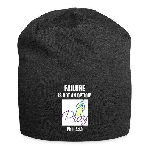 Failure Is NOT an Option! - Jersey Beanie