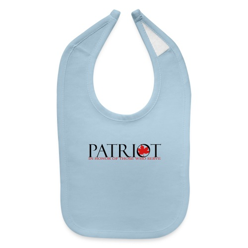 CDN PATRIOT_LOGO_1 - Baby Bib