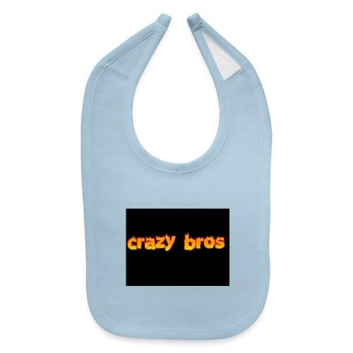 Crazy Bros logo - Baby Bib
