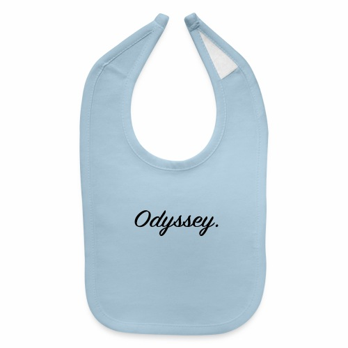 Odyssey Black - Baby Bib