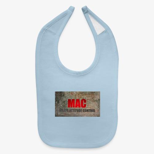MAC LOGO - Baby Bib