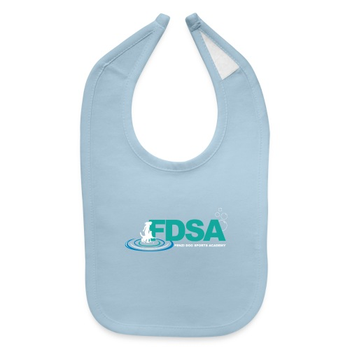 FDSA Teal Ripple - Baby Bib