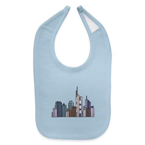 Frankfurt skyline - Baby Bib