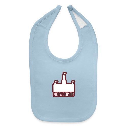 Koopa Country - Baby Bib