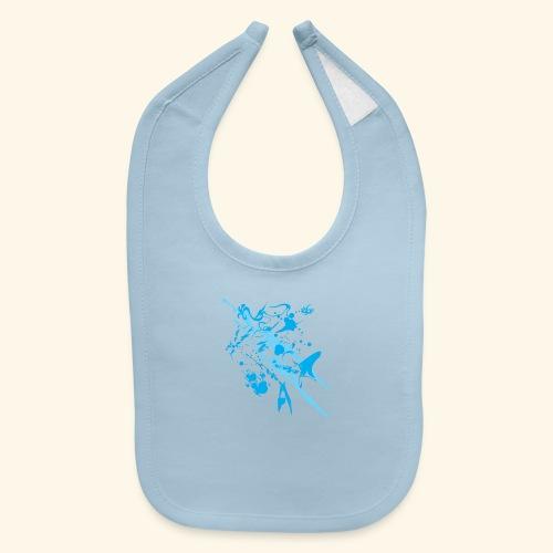 Blue Splash - Baby Bib