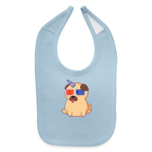 Dog with 3D glasses doing Vision Therapy! - Baby Bib