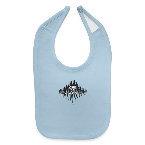 one as individuals - Baby Bib