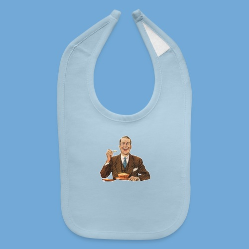 Happy Cereal Man - Baby Bib