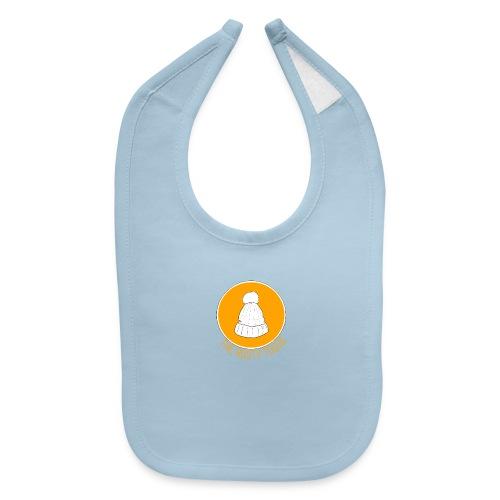 The Rusty Toque Orange Logo Brand - Baby Bib