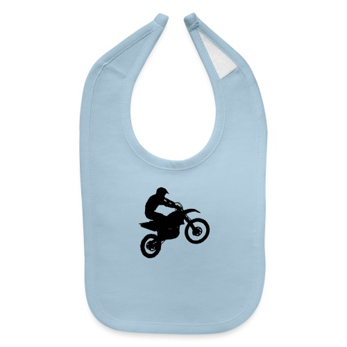 Motocross Dirt biker - Baby Bib