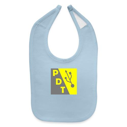PDT Logo - Baby Bib