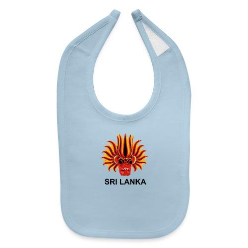 Sri Lanka Mask - Baby Bib
