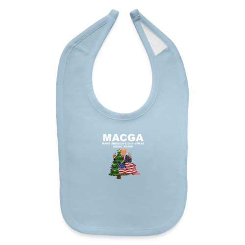Make America's Christmas Great Again - Baby Bib