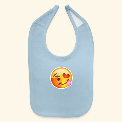 E Tees , Unique , Love , Cry, angry - Baby Bib