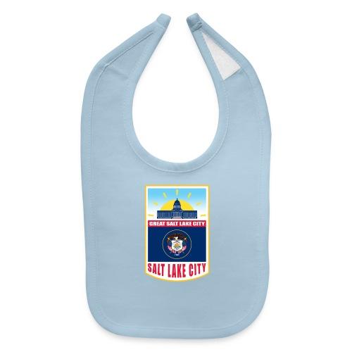 Utah - Salt Lake City - Baby Bib