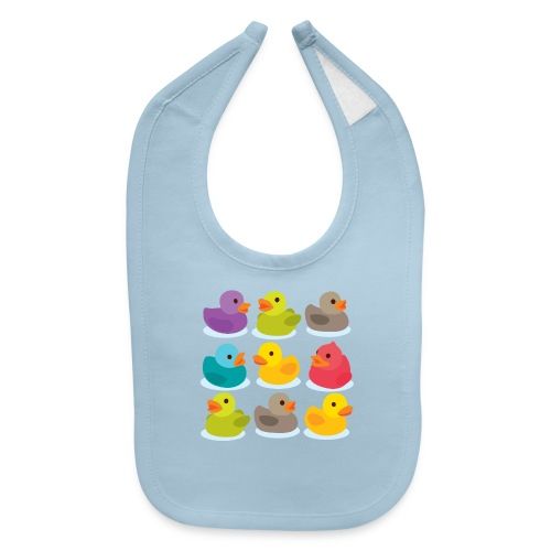 More rubber ducks to the people! - Baby Bib