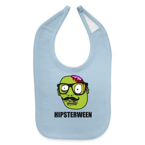 Hipsterween Zombie - Baby Bib