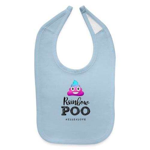 Rainbow Poo - Baby Bib