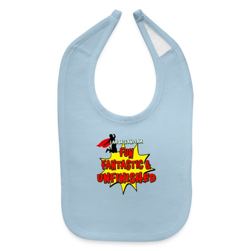 Fun Fantastic and UNFINISHED - Back to School - Baby Bib