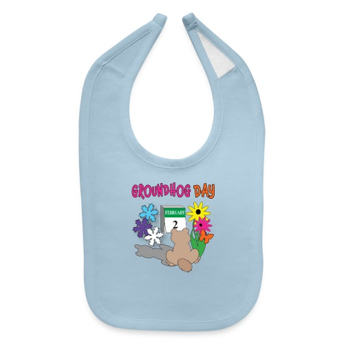 Groundhog Day Dilemma - Baby Bib