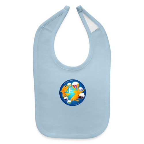 The Babyccinos The Letter F - Baby Bib