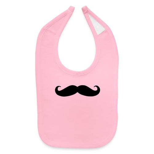 mustache - Baby Bib