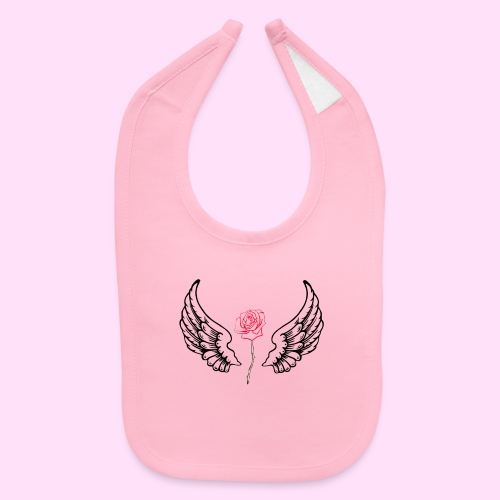 rose flight - Baby Bib
