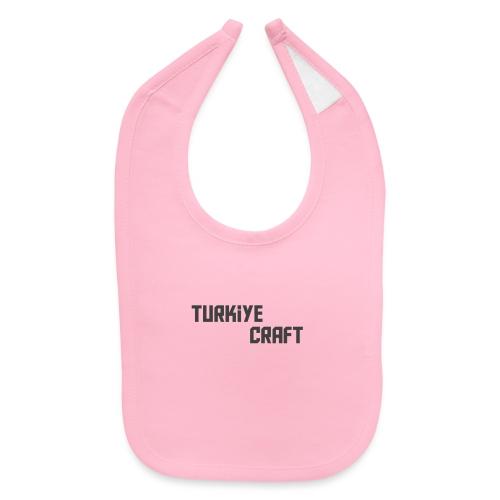 TurkiyeCrafts Solid Logo - Baby Bib