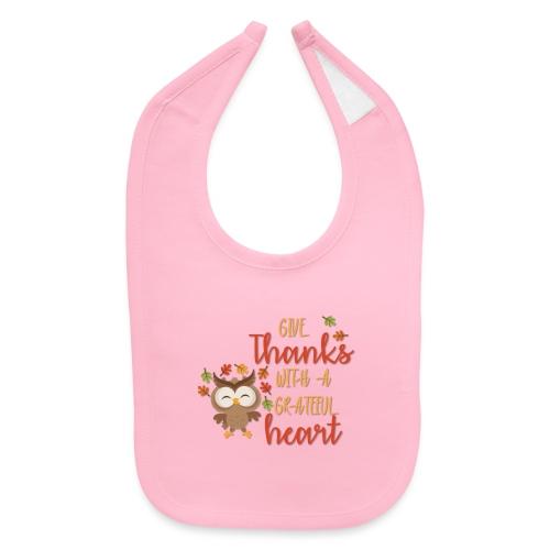 Give Thanks - Baby Bib