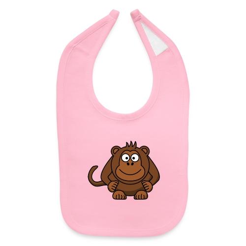 Funny Monkey - Baby Bib
