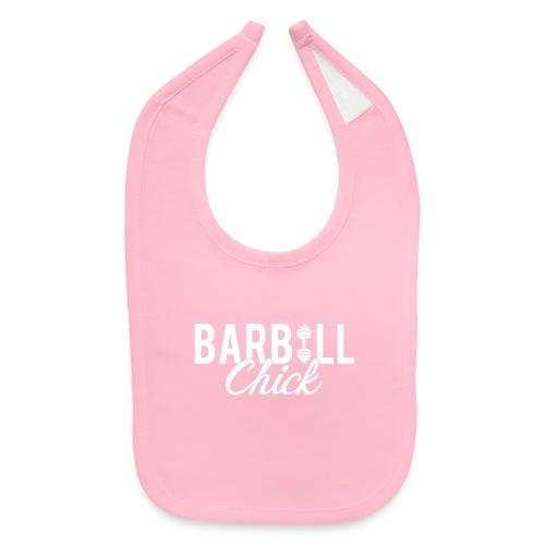 Barbell Fitness Chick - Baby Bib