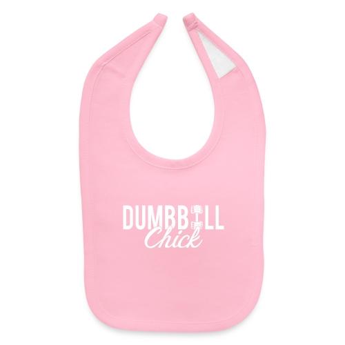 Dumbbell Fitness Chick - Baby Bib