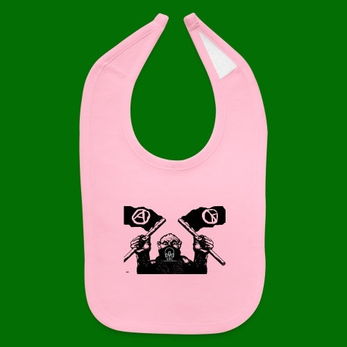 anarchy and peace - Baby Bib