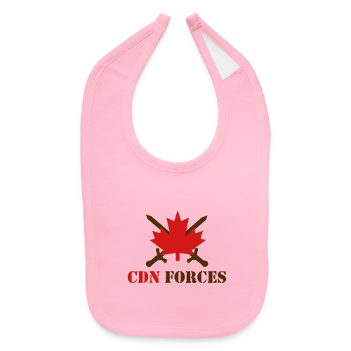 Canadian Forces Cross - Baby Bib