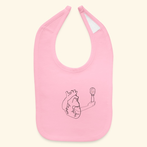Wounded Heart - Baby Bib